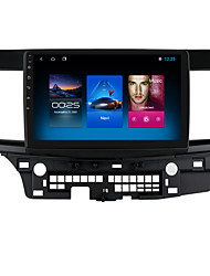 cheap -For Mitsubishi LANCER 2007-2012 Android 10.0 Autoradio Car Navigation Stereo Multimedia Car Player GPS Radio 10 inch IPS Touch Screen 1 2 3G Ram 16 32G ROM Support iOS Carplay WIFI Bluetooth 4G