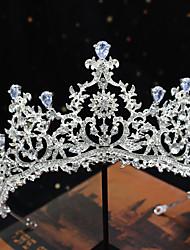 cheap -S108 Princess Birthday Queen Crown Zircon Wedding Crown Bridal Headdress Wedding Hair Accessories Wedding Headdress