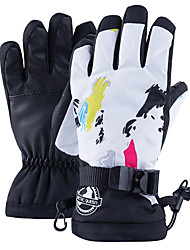 cheap -Ski Gloves Snow Gloves for Women Touchscreen Thermal Warm Waterproof PU Leather Full Finger Gloves Snowsports for Cold Weather Winter Skiing Snowboarding Cycling