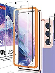 cheap -screen protector for samsung galaxy s21/s21 5g, 9h tempered glass, ultrasonic fingerprint compatible,3d curved, hd clear, bubble-free for galaxy s21 glass screen protector