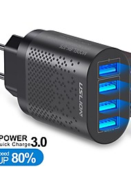 cheap -48 W Output Power USB Fast Charger Portable Charger Multi-Output QC 3.0 For iPad Cellphone 1 pc