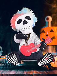 cheap -Halloween Sitting Guitar Ghost Bar Ktv Party Decorative Toys Horror Toys