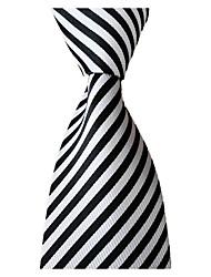cheap -Men's Work / Wedding / Gentleman Necktie - Striped Formal Style / Classic / Retro