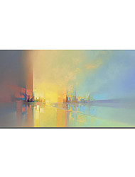 cheap -Oil Painting Handmade Hand Painted Wall Art Colorful Landscape Abstract Large Wall Paintings Home Decoration Decor Stretched Frame Ready to Hang