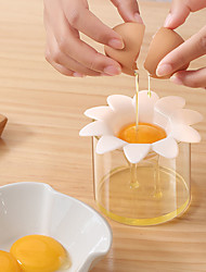cheap -Daisy Flower Shaped Egg White Separator Egg Dividers Eggs Filter Kitchen Accessories Household Tool Separate White and Yolk