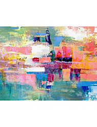 cheap -Oil Painting Handmade Hand Painted Wall Art Colorful Abstract Large Wall Paintings Home Decoration Decor Stretched Frame Ready to Hang