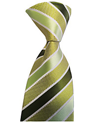cheap -Men's Party / Wedding / Gentleman Necktie - Striped Formal Style / Classic / Holiday