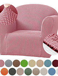 cheap -Jacquard High Stretch Kids Sofa Cover Child's Chair Cover Mini Size Sofa Slipcovers, 1 Seat Soft Armchair Couch Cover Settee Coat for Children Toddlers Baby