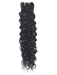 cheap -Ishow Water Hair 1 Bundles Brazilian Human Hair Weave Extensions 100% Human Hair Bundles Remy Natural Hair 8-28 Inch