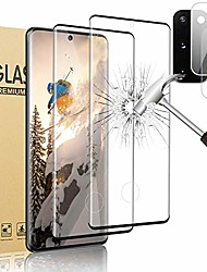 """cheap -[2+2 pack] galaxy s20 5g screen protector and camera lens protector bubble-free compatible fingerprint 3d full coverage 9h hardness tempered glass protector for samsung galaxy s20 (6.2"""")"""