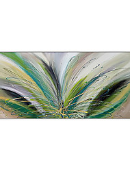 cheap -Oil Painting Handmade Hand Painted Wall Art Modern Abstract Acrylic Horizontal Home Decoration Decor Rolled Canvas No Frame Unstretched