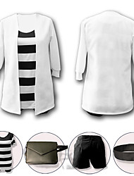 cheap -Inspired by Angels of Death Ray Anime Cosplay Costumes Japanese Cosplay Suits Coat Top Pants For Women's / Bag / Neckwear