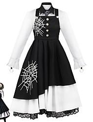 cheap -Inspired by Danganronpa V3 Tojo Kirumi Anime Cosplay Costumes Japanese Cosplay Suits Blouse Skirt Gloves For Women's / Socks / Tie / Headwear