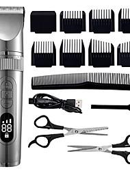 cheap -Professional Hair Clipper For Men Beard Trimmer Machine for Shaving Hair Trimmer Fast Charge Hair Cutting Machine Beard Trimmer with  Barber Scissors