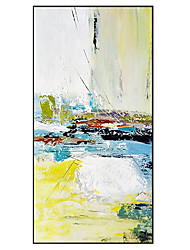 cheap -Oil Painting Handmade Hand Painted Wall Art Modern Bright Color Abstract Large Size Picture Home Decoration Decor Rolled Canvas No Frame Unstretched