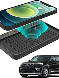 cheap -Wireless Car Charger for Ford Explorer Center Control Accessories 2020 2021 with USB Ports Compatible Wireless Charging Pad fit for Explorer Base XLT Left Rudder
