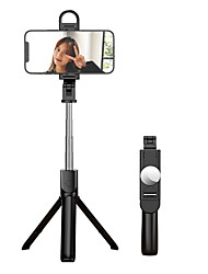 cheap -Selfie Stick Bluetooth Extendable Max Length 82 cm For Universal Android / iOS