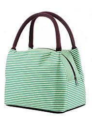 cheap -Women's Bags Oxford Cloth Lunch Bag Stripes Daily Retro Canvas Bag Handbags Watermelon Red Blue Purple Green