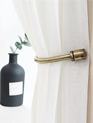 cheap -Holdbacks Curtain Accessories Window Treatments 2pcs Metal
