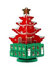 cheap -snow house girl heart dress up christmas surprise countdown calendar blind box baking gift box decoration lobby desk calendar cartoon