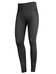 cheap -Women's Cycling Tights Winter Summer Bike Tights Sports Black Road Bike Cycling Clothing Apparel Race Fit Bike Wear Advanced Sewing Techniques / Stretchy
