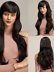 cheap -Rebcass Pink Hair synthetic Wigs Air Volume High Temperature Soft Hair Silk Bulk Hair Long Curly Big Wave Hair Wig Cosplay for Women Free Cap
