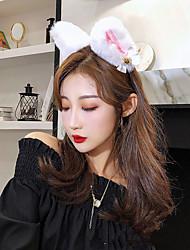 cheap -Anime Girl Headband Cat Ears Bell Performance Headband Cos Live Hair Accessories