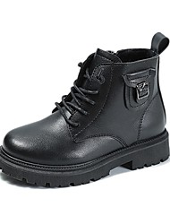 cheap -Boys' Boots Combat Boots Synthetics Casual / Daily Sports Combat Boots Big Kids(7years +) Little Kids(4-7ys) Sports & Outdoor Daily Black Fall Winter / Booties / Ankle Boots / Martin Boots / TR