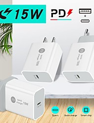 cheap -15 W Output Power USB PD Charger Fast Charger Portable QC 3.0 Fast Charge CE Certified For Cellphone 1 PC