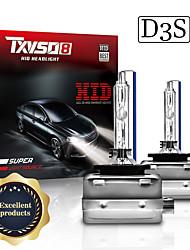 cheap -2pcs TXVSO8 2020 D3S Car HID Headlights 35W 6000K Lights Auto Xenon Bulbs 9000LM bombilla xenon for RV SUV MPV Car Standard Voltage 12V