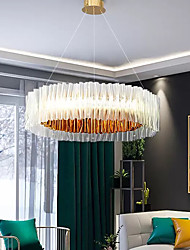 cheap -LED Pendant Light 78 cm Pendant Lantern Design Chandelier Light Stainless Steel Modern 110-240V