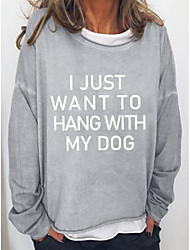cheap -i just want to hang out with my dog sweatshirt