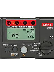 cheap -UNI-T UT502A 2500V Digital Insulation Resistance Meter Tester Megohmmeter Highly Voltmeter Continuity Tester w/LCD BacklightUNI-T UT502A 2500V Digital Insulation Resistance Meter Tester Megohmmeter