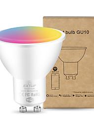 cheap -1pc 5 W LED Smart Bulbs 400 lm GU10 GU10 20 LED Beads SMD Smart Timing Works With Amazon Alexa RGB&CW 85-265 V