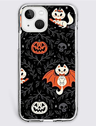 cheap -Halloween Phone Case For Apple iPhone 13 12 Pro Max 11 SE 2020 X XR XS Max 8 7 Unique Design Protective Case Shockproof Dustproof Back Cover TPU