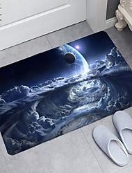 cheap -Star Universe Series Digital Printing Floor Mat Modern Bath Mats Nonwoven / Memory Foam Novelty Bathroom
