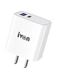 cheap -12 W Output Power Micro USB USB C Fast Charger Phone Charger Portable Charger Portable Multi-Output Fast Charge For iPad Cellphone 1pcs