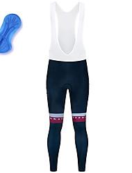 cheap -21Grams Men's Cycling Bib Tights Spandex Bike Bib Tights Quick Dry Moisture Wicking Sports Stars Red Mountain Bike MTB Road Bike Cycling Clothing Apparel Bike Wear / Stretchy / Athleisure