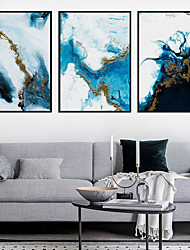 cheap -Wall Art Canvas Poster Painting Artwork Picture Abstract Marble Home Decoration Decor Rolled Canvas No Frame Unframed Unstretched
