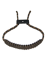cheap -bow archery wrist, compound bow wrist strap comfortable durable and adjustable bow strap braid rope hunting archery accessory