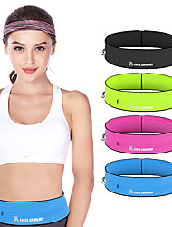 cheap -Running Belt Waist Bag / Pack for Fitness Gym Workout Running Active Training Sports Bag Adjustable Size Wearable Mini Polyester Women's Men's Running Bag Adults