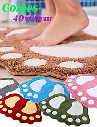 cheap -Big Feet Bath Toilet Mat Bathroom RugsArea Rugs Carpet Doormat Floor Mat Absorbent Mats Foot Pad Rug 40*60CM