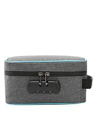 cheap -Unisex Bags Nylon Tobacco Pouch Zipper Password Lock Storage Case Party Outdoor Handbags Blue Black Red