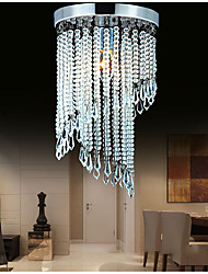 cheap -Unique Flush Mount Chandeliers Lights Stainless Steel LED Nordic Style 220-240V DN25 30 CM