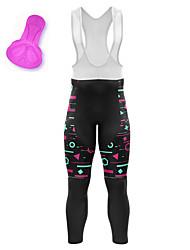 cheap -21Grams Women's Cycling Bib Tights Bike Bib Tights Quick Dry Moisture Wicking Sports Stripes 3D American / USA Black Mountain Bike MTB Road Bike Cycling Clothing Apparel Bike Wear / Athleisure