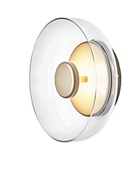 cheap -Creative Nordic Style Flush Mount Wall Lights LED Shops / Cafes Office Glass Wall Light IP24 110-240 V