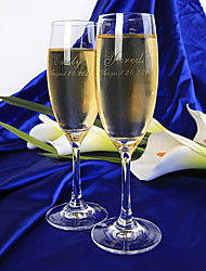cheap -Glass Toasting Flutes Gift Box Wedding All Seasons