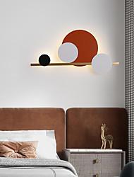 cheap -Modern Nordic Style LED Wall Lights Living Room Bedroom Iron Wall Light 220-240V 15 W