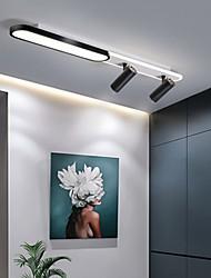 cheap -80/100 cm Geometric Shapes Flush Mount Lights Aluminum Modern Style Stylish Geometrical Painted Finishes LED Modern 220-240V