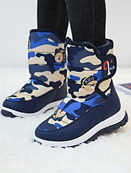 cheap -Boys' Girls' Boots Snow Boots Synthetics Casual / Daily Snow Boots Big Kids(7years +) Little Kids(4-7ys) Toddler(2-4ys) Sports & Outdoor Daily Blue Black Fall Winter / Mid-Calf Boots / Camouflage